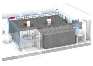 Kleinteilelager als Material- und Ersatzteillager: Automatisiertes Behälterlagersystem mit AutoStore