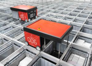 Stückgut-Kommissionierungssystem von AutoStore zur Optimierung der Lagerflächennutzung