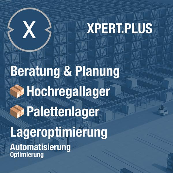 Xpert.Plus Lageroptimierung - Hochregallager wie Palettenlager Beratung und Planung