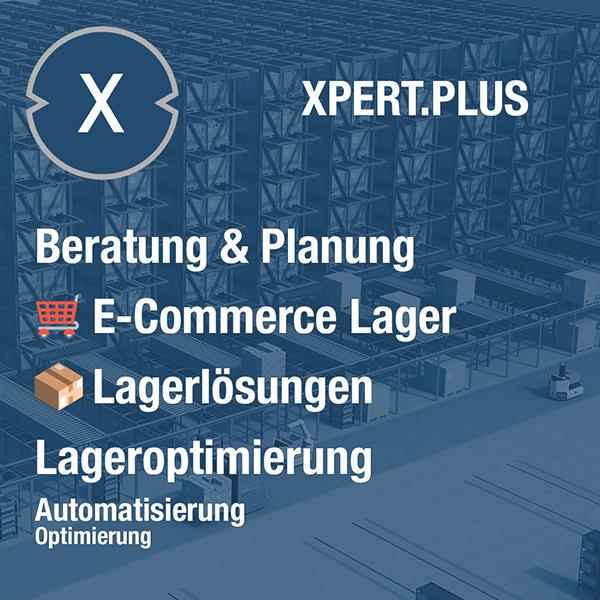 Xpert.Plus Lageroptimierung - E-Commerce Lager wie Lagerlösungen Beratung und Planung